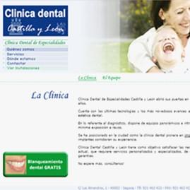 Página web corporativa Dentacyl