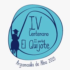 Logotipo IV Centenario 2ª parte del Quijote