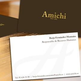 Propuesta de diseño material corporativo Amichi
